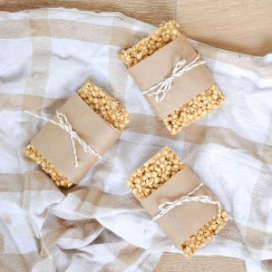 3 Ingredient Puffed Cereal Bars
