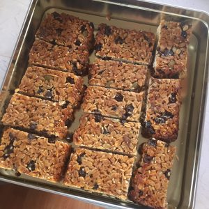 Zero Waste Muesli Bars