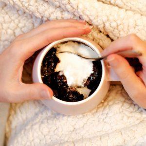 Brownie in a mug!